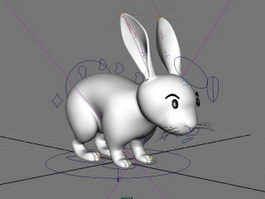 White Rabbit Rig 3d model