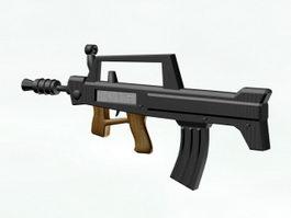 Type 95 Assault Rifle 3d model
