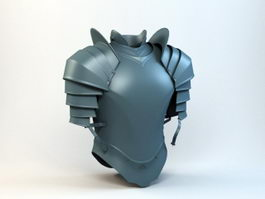 Medieval Light Armor 3d model