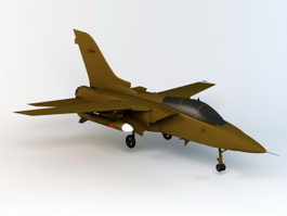 British Tornado Fighter 3d model