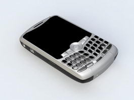 BlackBerry Smartphone 3d model