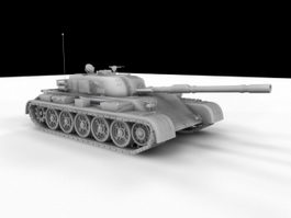Main Battle Tank 3d model