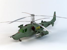 Attack Helicopter 3d model