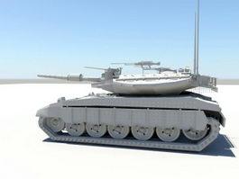 Modern Heavy Tank 3d model