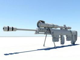 Tactical Sniper Rifle 3d model