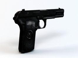 Type 54 Pistol 3d model