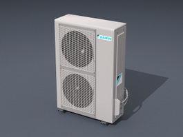 Air Conditioner 3d Model Free Download Cadnav Com
