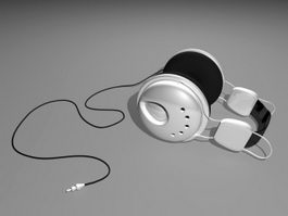 Gaming Headphones 3d model