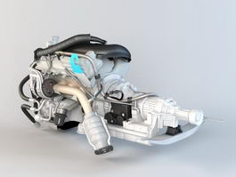 Honda Engine 3d model