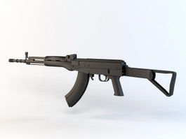 Type 81 Assault Rifle 3d model