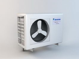Daikin Air Conditioner 3d model