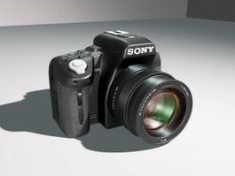 Sony DSLR Camera 3d model
