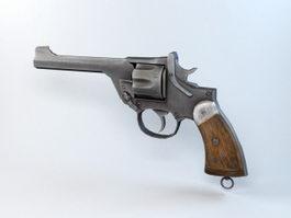 Old West Revolver 3d model