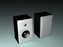 Bookshelf Loudspeakers 3d model