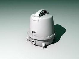 Old Vacuum Cleaner 3d model