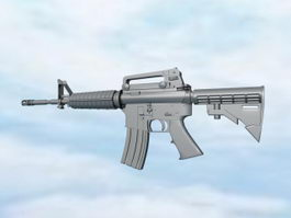 Carbine Assault Rifle 3d model