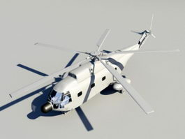 Animated SH-2 Seasprite 3d model
