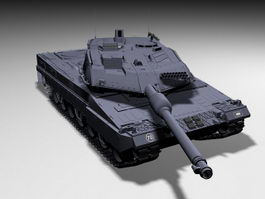 German Leopard 2 Tank 3d model