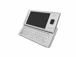Sony Ericsson Xperia X2 3d model