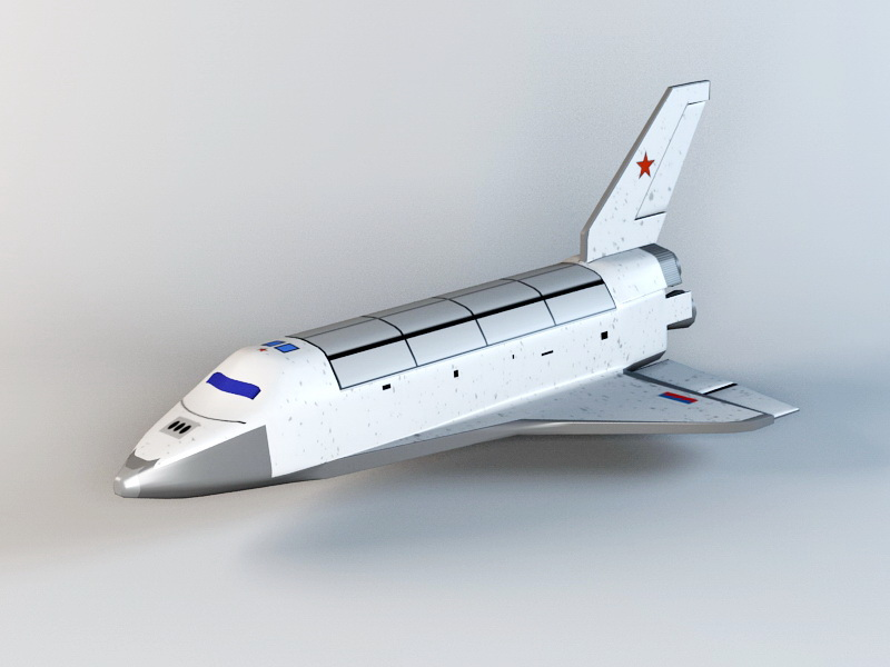 Space Shuttle 3d model 3ds Max files free download