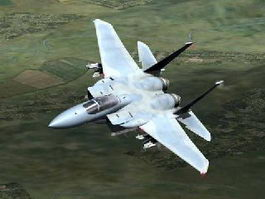 F-15 Tactical Fighter Aircraft 3d model