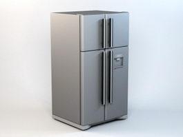 Siemens Refrigerator 3d model