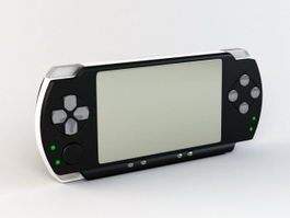 PlayStation Portable 3d model