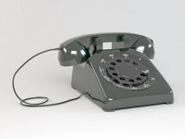Rotary Telephone 3d model