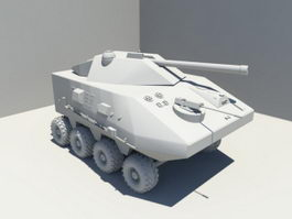 Light Armored Fighting Vehicle 3d model