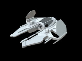 Star Wars Starfighter 3d model