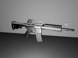 American M4 Carbine 3d model