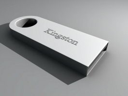 Micro USB Drive 3d model