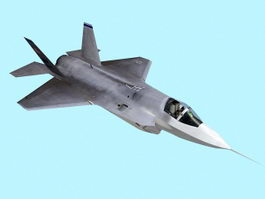 F-35 Stealth Fighter Aircraft 3d model