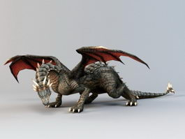 Giant Dragon 3d model
