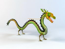Traditional Chinese Dragon 3d model