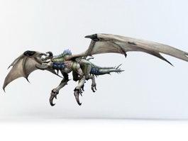 Drake Creature 3d model