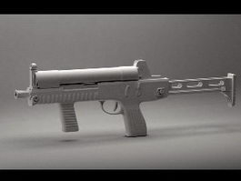 CF-05 Submachine Gun 3d model