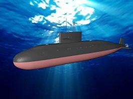 Yuan class Submarine 3d model
