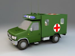 Military Ambulance 3d preview