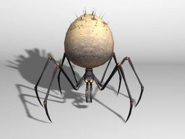 Orb Spider Creature 3d model