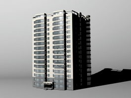 High-rise Apartment 3d model