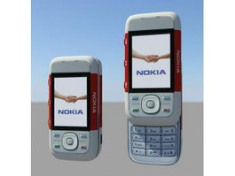 Nokia 5300 XpressMusic 3d model