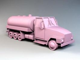 Fuel Tanker 3d model