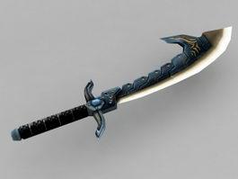 Anime Sword 3d model