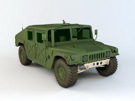 AM General Humvee 3d model