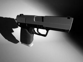 USP 45 Pistol 3d model