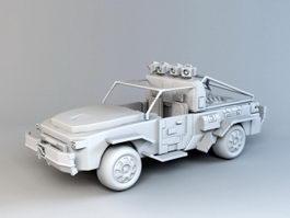 Off-Road Truck 3d model