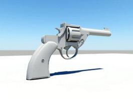Beretta Revolver 3d model