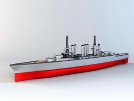 Lexington-class Battlecruiser 3d model