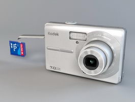 Kodak M753 Camera 3d preview